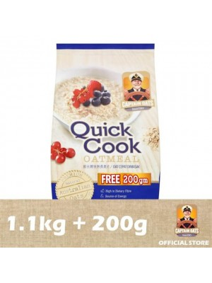 Captain Oats - Quick Cooking Foil Pack (1.1kg + 200g) [MCO 2.0]