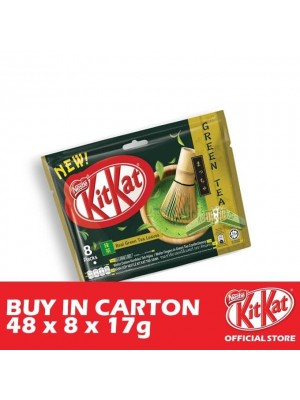 Nestle KitKat 2-Fingers Green Tea 48 x 8 x 17g