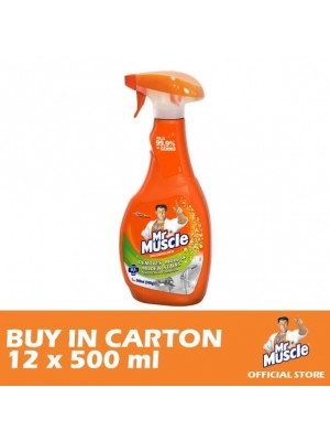 Mr. Muscle 5 in 1 Mold & Mildew 12 x 500ml