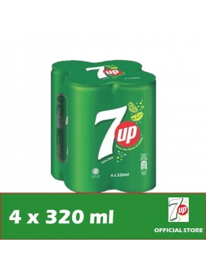 7UP Can 4 x 320ml