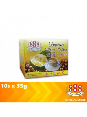 888 3 in 1 Instant Durian White Coffee 10s x 35g