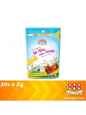 888 Green Tea with Jasmine Potbag 20s x 2g
