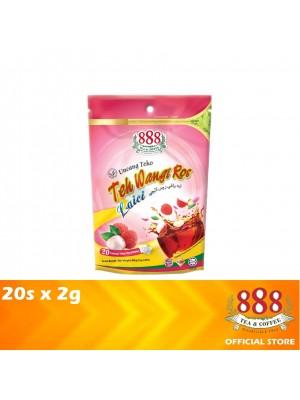 888 Teh Wangi Ros Lychee Potbag 20s x 2g