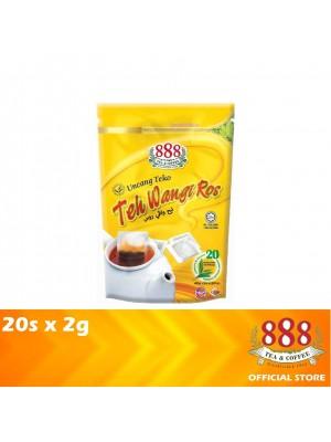 888 Teh Wangi Ros Potbag 20s x 2g