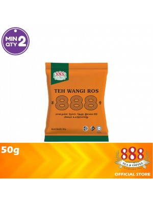 888 Teh Wangi Ros Serbuk 50g