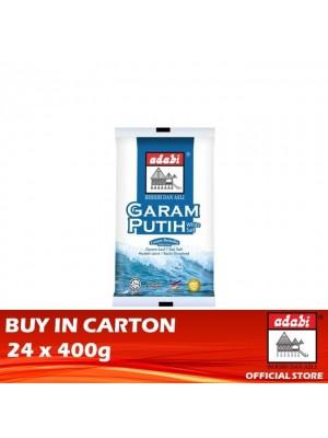 Adabi Garam putih 24 x 400g [Essential]