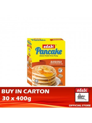 Adabi Instant Pancake Banana Flavour 30 x 400g [Essential]