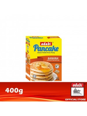 5A. Adabi Instant Pancake Banana Flavour 400g [Essential]