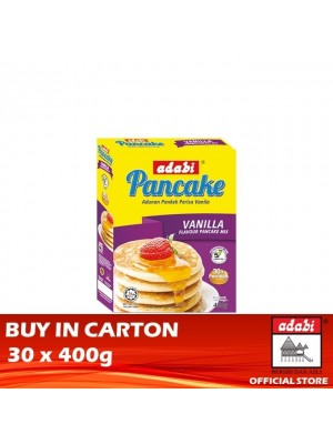Adabi Instant Pancake Vanilla Flavour 30 x 400g