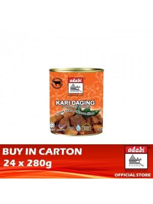 Adabi Kari Daging Dengan Ubi Kentang 24 x 280g [Essential]
