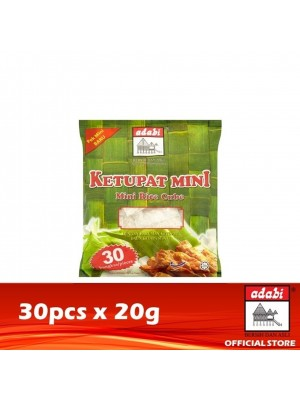 Adabi Ketupat Mini 30 x 20g (EXP : 07/2021) [MUST BUY]