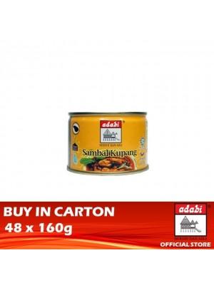 Adabi Sambal Kupang 48 x 160g [Essential]