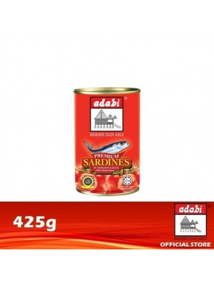 Adabi Sardin in Tomato Sauce 425g [MUST BUY]