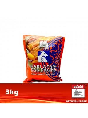 Adabi Serbuk Kari Ayam & Daging 3kg