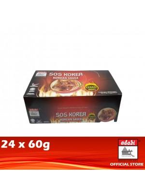 Adabi Sos Korea Pedas 24 x 60g