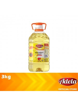 Adela Blended Sunflower & Canola Oil 3kg
