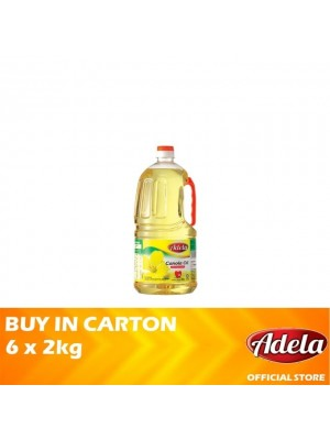 Adela Canola Oil 6 x 2kg [Essential]