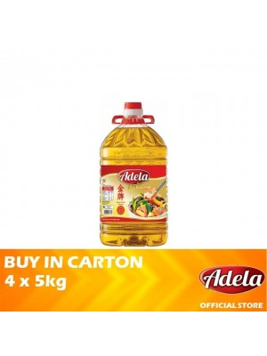 Adela Gold Blended Cooking Oil 4 x 5kg [Essential]