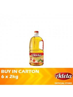 Adela Gold Blended Cooking Oil 6 x 2kg