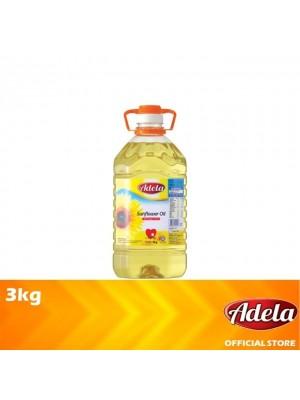 Adela Sunflower Oil 3kg [Essential]