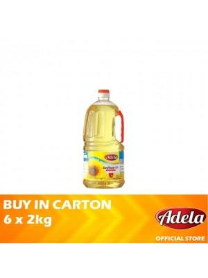 Adela Sunflower Oil 6 x 2kg