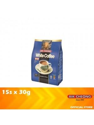 Aik Cheong 2 in 1 White Coffee Tarik No Sugar 15s x 30g