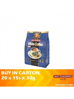 Aik Cheong 2 in 1 White Coffee Tarik No Sugar 20 x 15s x 30g