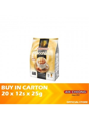 Aik Cheong 3 in 1 Caramel Macchiato 20 x 12 x 25g