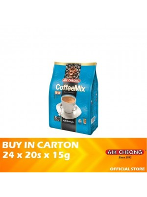 Aik Cheong 3 in 1 Coffee Mix No Sugar 24 x 20s x 15s