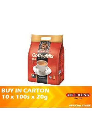 Aik Cheong 3 in 1 Coffee Mix Regular 10 x 100s x 20g