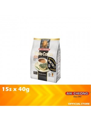 Aik Cheong 3 in 1 White Coffee Tarik Less Sugar 15s x 40g
