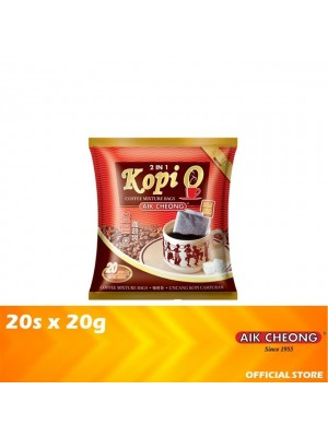 Aik Cheong Coffee O Bag 2 in 1 Sugar Added 20s x 20g