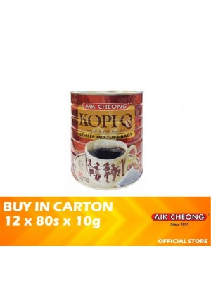 Aik Cheong Coffee O Bag Tin 12 x 80s x 10g