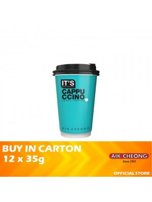 Aik Cheong It's Cup - It's Cappuccino Chocolate Topping 12 x 35g