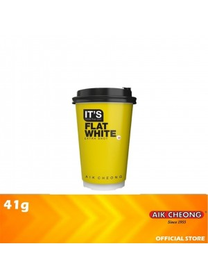 Aik Cheong It's Cup - It's Flat White Extra Shot 41g [MUST BUY]