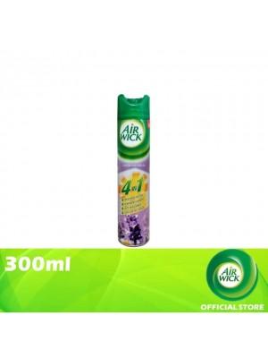 Air Wick 4 in 1 Air Freshener Aerosol Lavender Fields 300ml