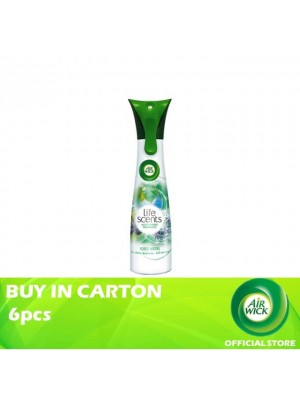 Air Wick Life Scent Aerosol Forest Waters 6pcs