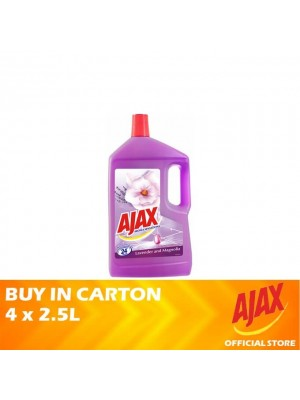 Ajax Aroma Sensations Lavender & Magnolia Multi Purpose Cleaner 4 x 2.5L