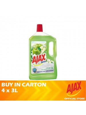 Ajax Fabuloso Apple Fresh Multi Purpose Cleaner 4 x 3L