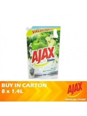 Ajax Fabuloso Apple Fresh Multi Purpose Cleaner Refill 8 x 1.4L