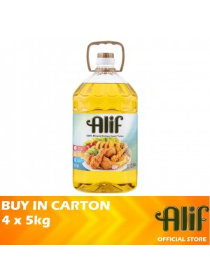 Alif Palm Cooking Oil 4 x 5kg