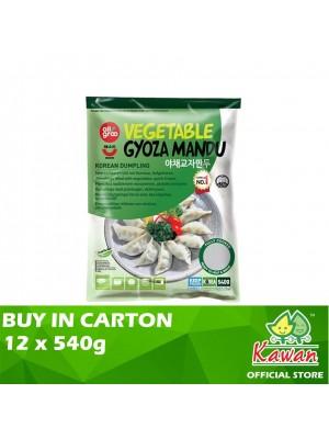 Allgroo Vegetable Gyoza Mandu 12 x 540g