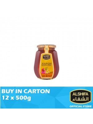 Alshifa Natural Honey Jar 12 x 500g