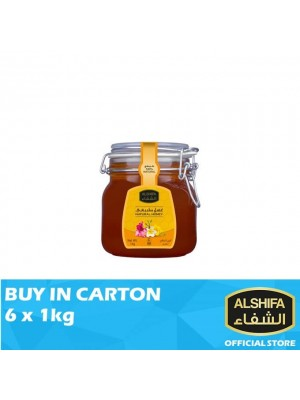 Alshifa Natural Honey Jar 6 x 1kg