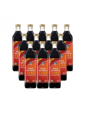 Angel Thick Soy Sauce (Select) 12 x 750ml [Essential]