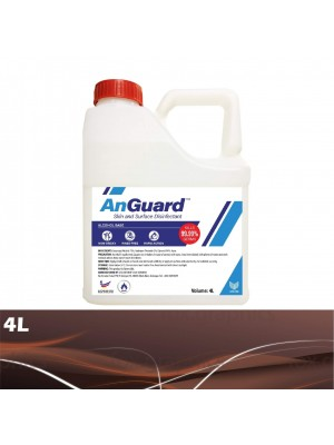 Anguard Hand Sanitizer Alcohol Base 4L