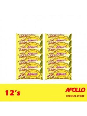 Apollo Chocolate Wafer Cream 12's
