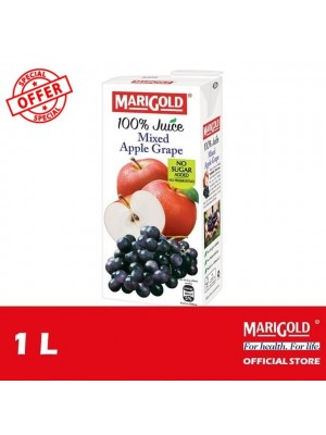 Marigold 100% Juice Mixed Apple Grape 1L  [MUST BUY]