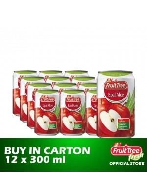 Fruit Tree Apple Aloe 12 x 300ml