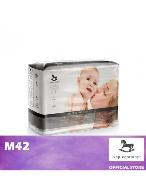 Applecrumby Chlorine Free Tape Diaper M42
